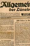 Schütte Holzbau Uelzen - AZ-Artikel 1950